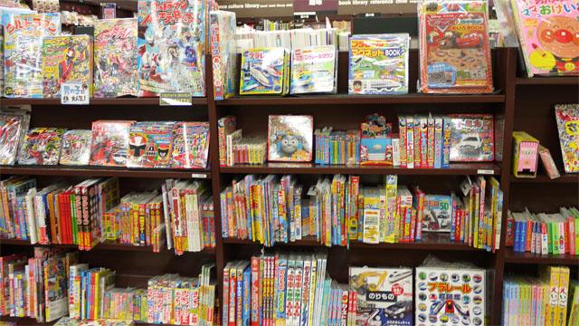 室蘭店自慢の児童書コーナー